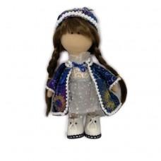 Символ года 2021 Снегурочка, эксклюзивная кукла ручной работы